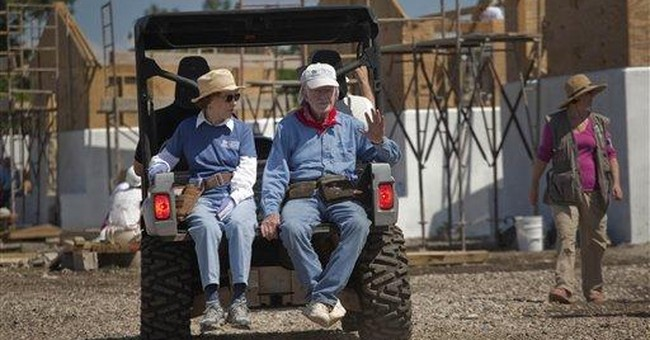 Jimmy Carter: Few houses built for poor Haitians