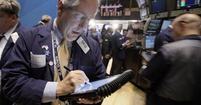 Stocks push higher; Dow regains the 12,000 mark