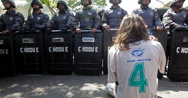 Students go on strike after arrests in Brazil