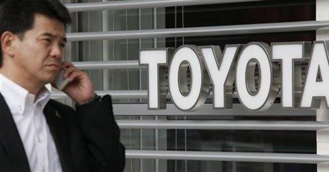 Toyota quarterly profit drops 18.5 percent to $1B