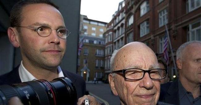 Credibility fading, James Murdoch returns to UK