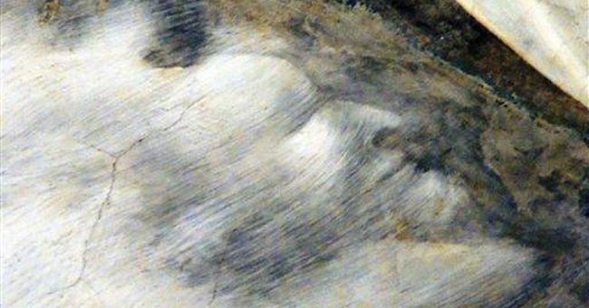 Hidden devil found in Giotto Assisi fresco