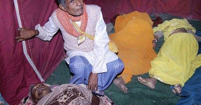 Official: 16 Hindus die in stampede in north India