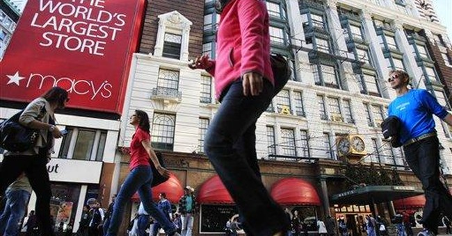 Macy's 3Q earnings rise; raises outlook