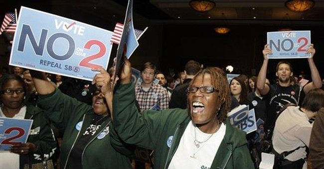 Ohio vote shows unions still a political force