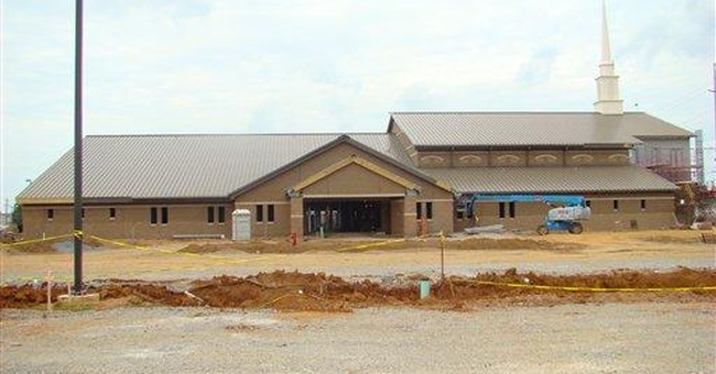 New chapel takes shape at large Army post