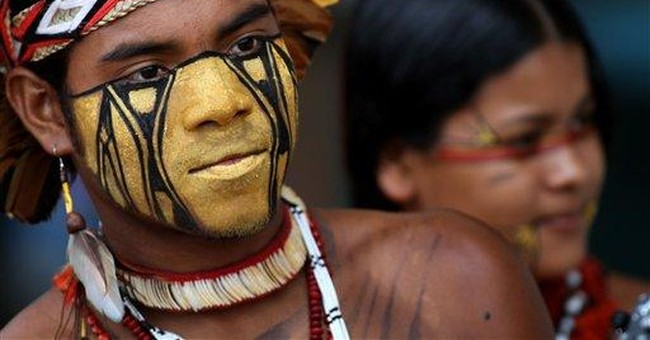 Brazil Indigenous compete in weeklong sports event