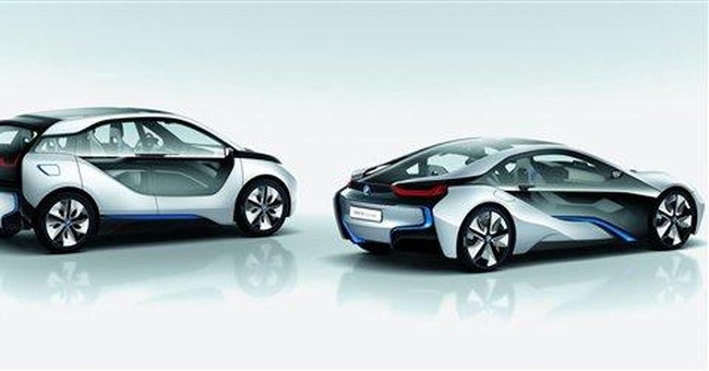 BMW unveils new electric and hybrid concept cars