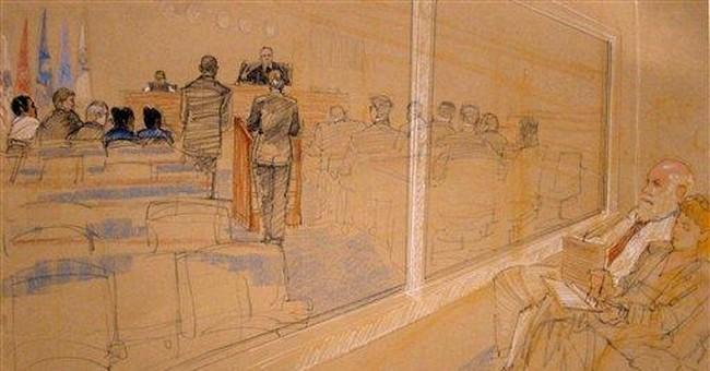 Saudi arraigned at Guantanamo in USS Cole attack