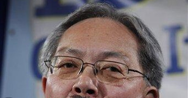 SF interim Mayor Lee declares himself victor