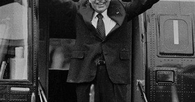Nixon defended his legacy in grand jury tape