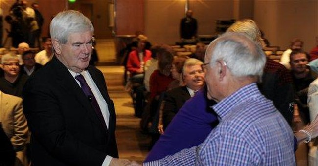 As others fall, Gingrich may emerge