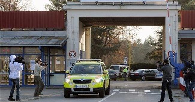 2 people shot dead at Czech plane plant