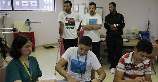 Wounded Libyan fighters recover at Mass. hospital