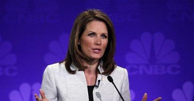 Occupy Wall Street crowd disrupts Bachmann speech