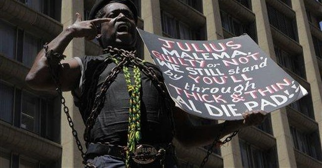 S. Africa ANC youth leader claims he is a victim