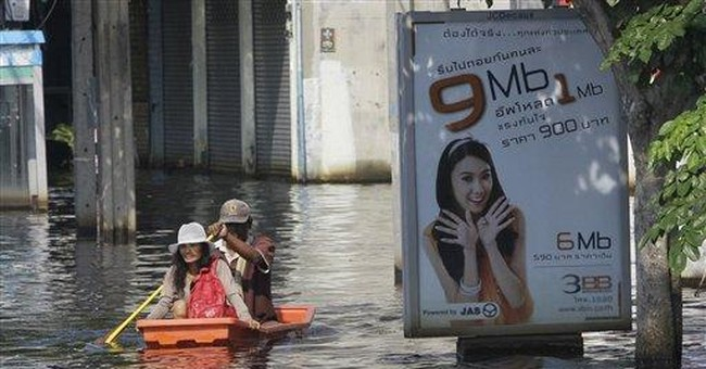 Thailand tries to help companies as floods spread