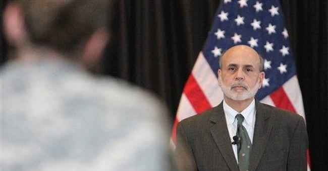 Bernanke seeks to reassure vets in weak economy