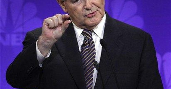 Gingrich: Cain handling allegations well, so far