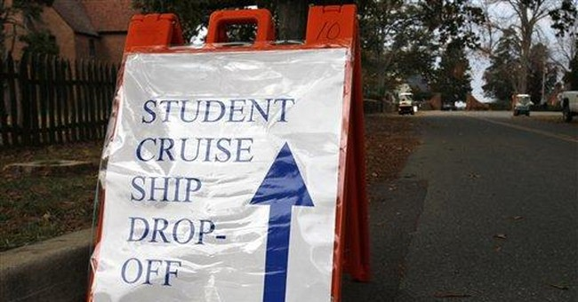 Md. college books 'cruise' for dormless students