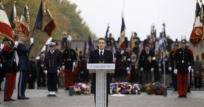 French prez wants Nov. 11 to be for all war dead