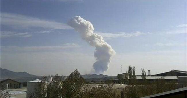 Accidental blast at Iranian arms depot kills 17