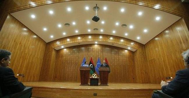 Libya interim leader: No place for extremist Islam