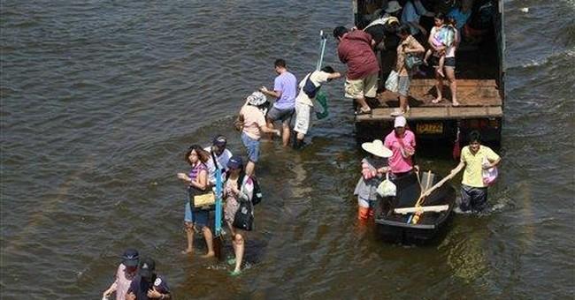 Thai PM: Flooding won't devastate central Bangkok