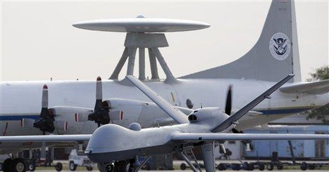 Feds use more unmanned aircraft to secure border