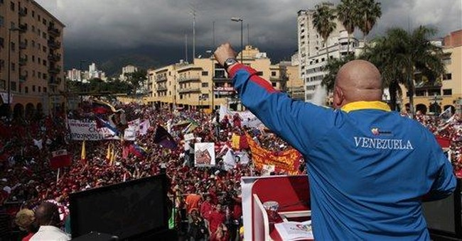 Venezuelans rally to show support for Hugo Chavez