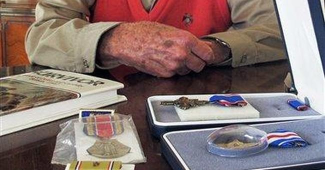 Utah man receives war medals 66 years late