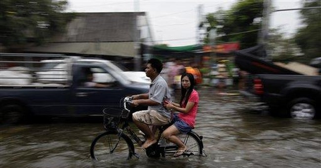 Thai PM urges those in flooded areas to be patient