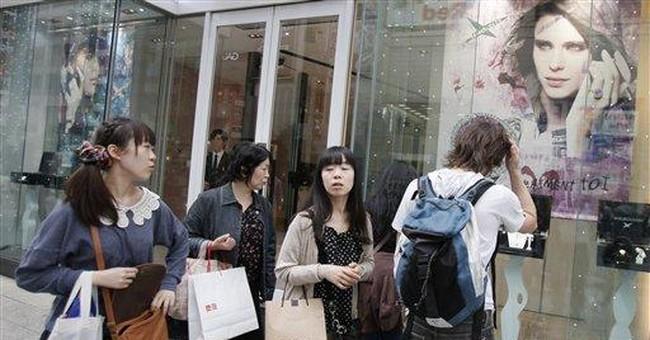 Japan's economy rises out of earthquake slump