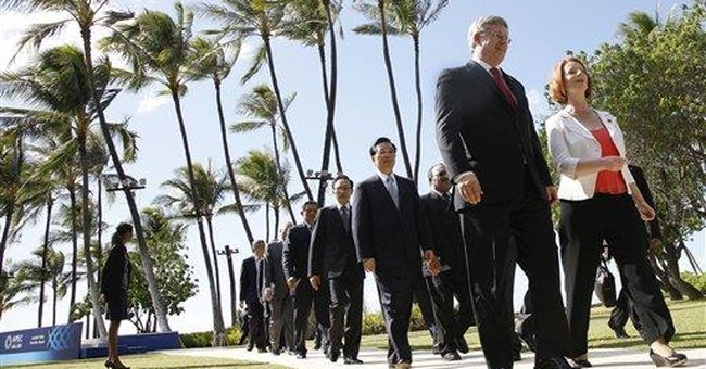 Leaders: Asia-Pacific free trade vital to recovery