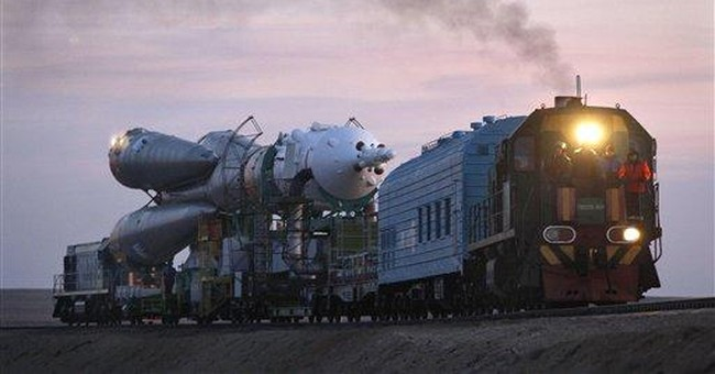 Russian craft set to blast off on delayed mission