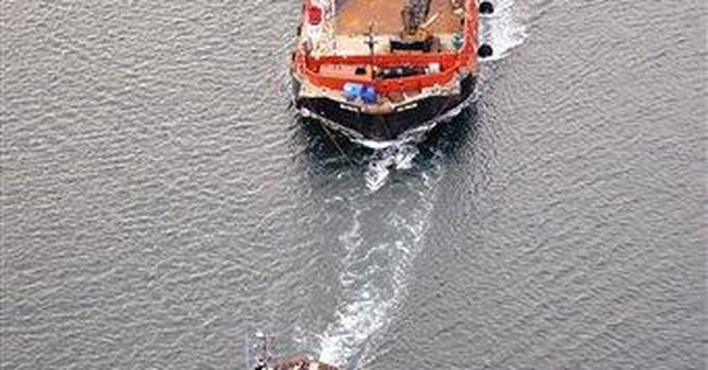 New Zealand crews pump all oil from grounded ship
