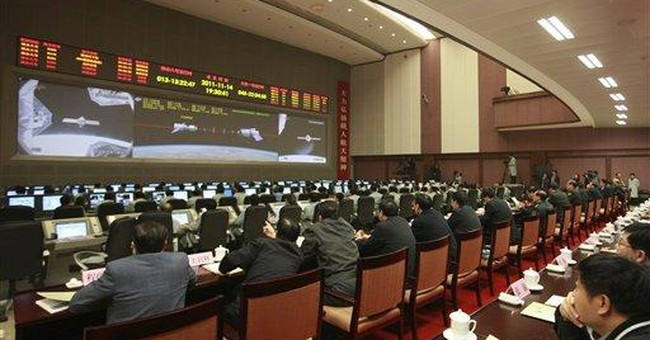 Chinese spacecraft dock in orbit for second time