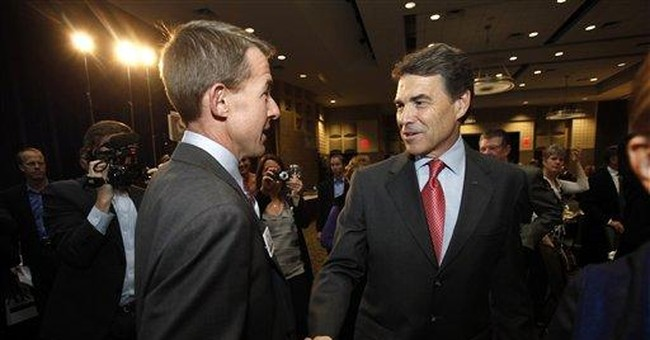 Perry vows real change if elected