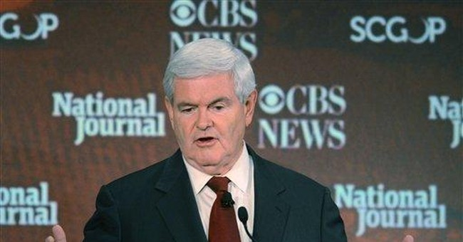Gingrich in Iowa says GOP taking second look