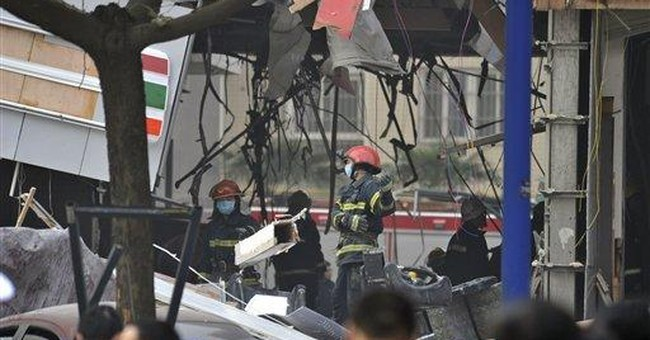 9 dead in gas explosion at restaurant in NW China