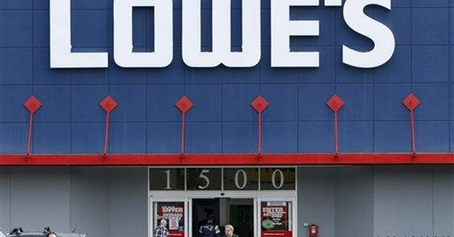 Lowe's 3Q profit sinks 44 percent on charges