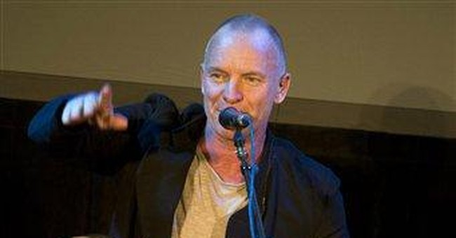 Sting debuts free app, pays tribute to Steve Jobs