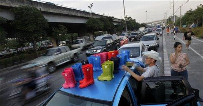 Small business ingenuity thrives in Thai floods