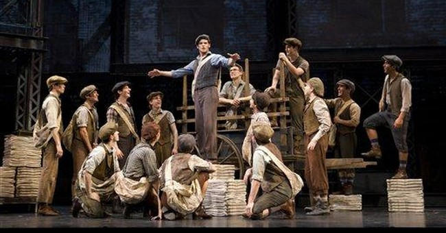 Disney's musical of 'Newsies' to land on Broadway