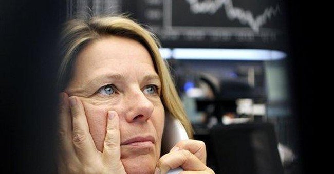 Stocks fall as Europe's debt crisis rages on