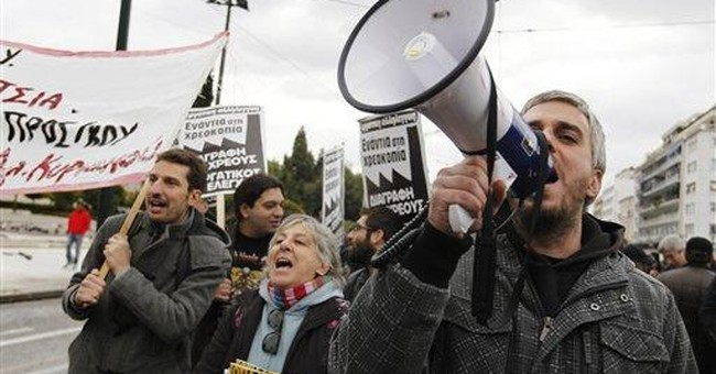 For first time, nations mull Greek exit from euro