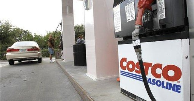 Companies paid less in October for energy, autos