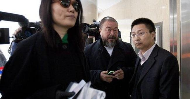 Ai Weiwei makes tax battle a 'social performance'