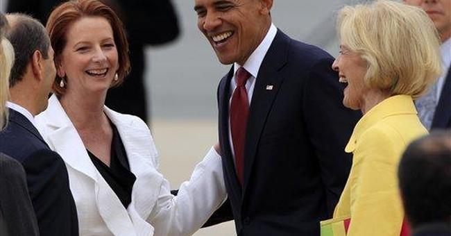 Obama opens long-delayed visit to Australia