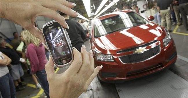 General Motors to cut Chevrolet Cruze production